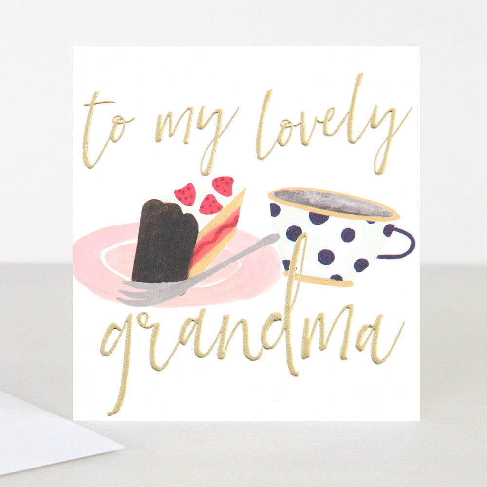 To my lovely grandma