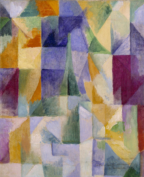 Windows Open Simultaneously (First Part, Third Motif), 1912