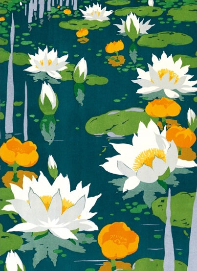 By Underground to Kew Gardens: Water lilies