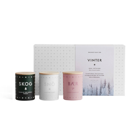 Skandinavisk VINTER Mini Gift Set