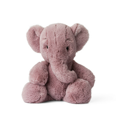 Ebu the Elephant Large Soft Toy Pink