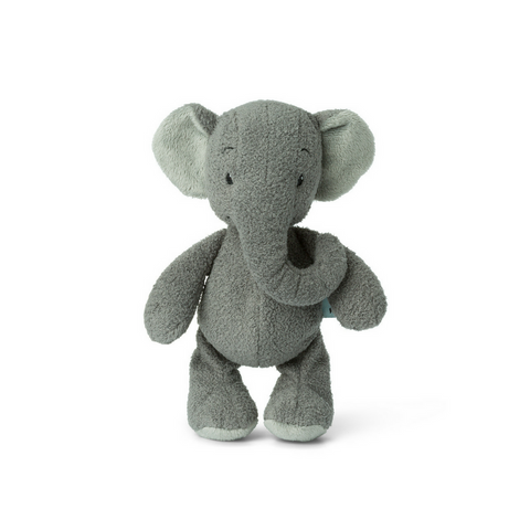 Ebu the Elephant Soft Toy Grey