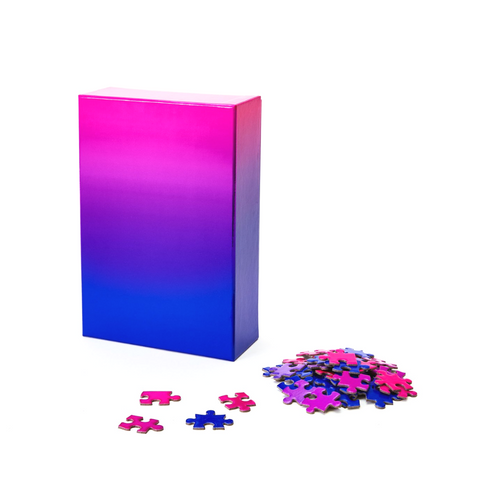 Areaware Pink and Blue Gradient Puzzle