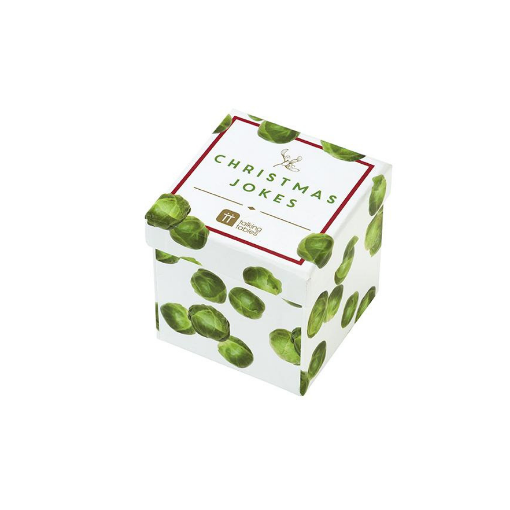 Botanical Christmas Sprout Joke Box