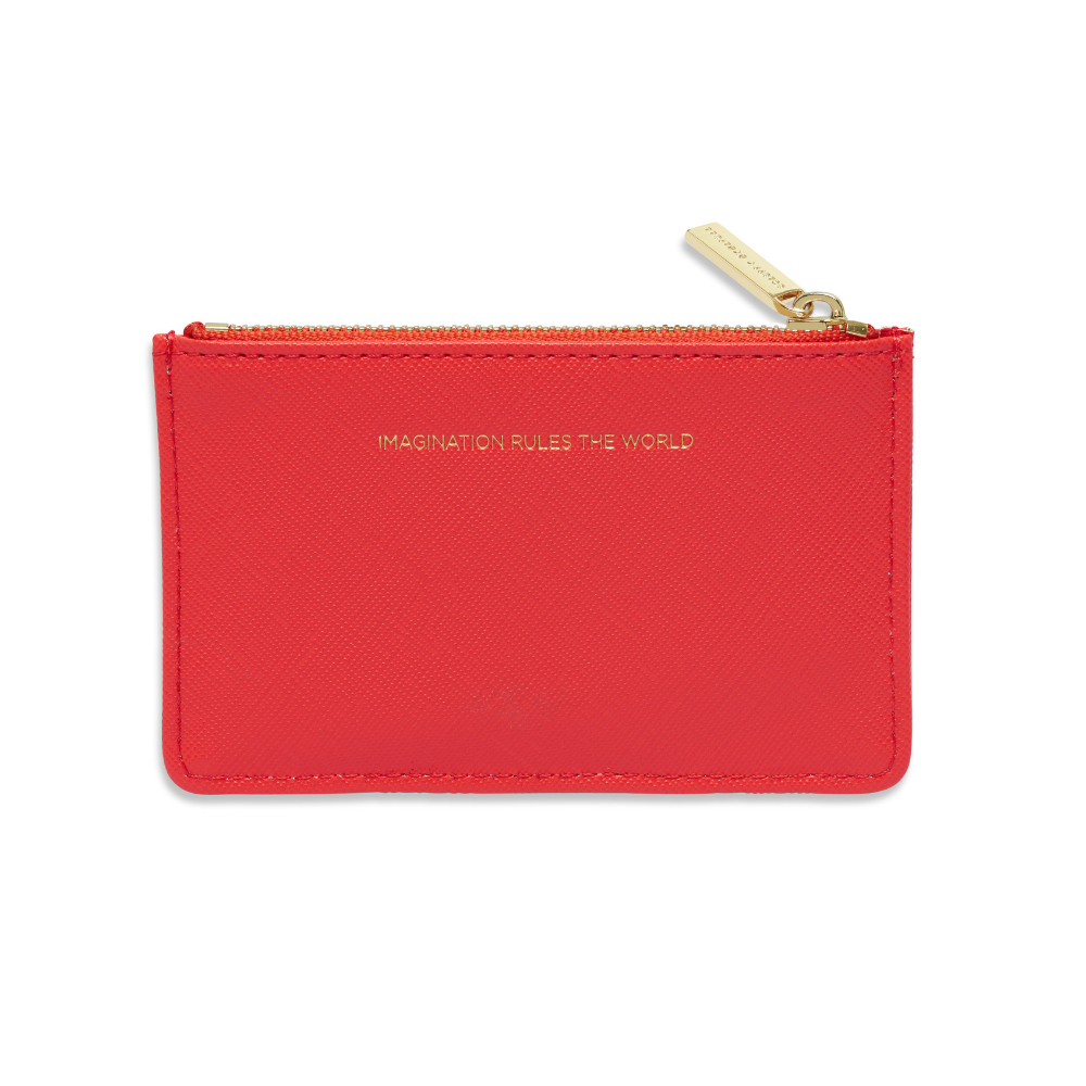 Estella Bartlett 'Imagination' Coral Card Purse