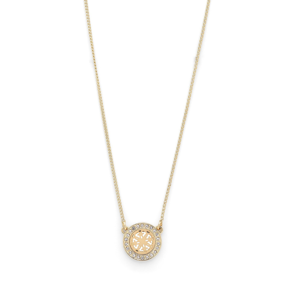 Henrietta Gold Plated and Crystal Necklace