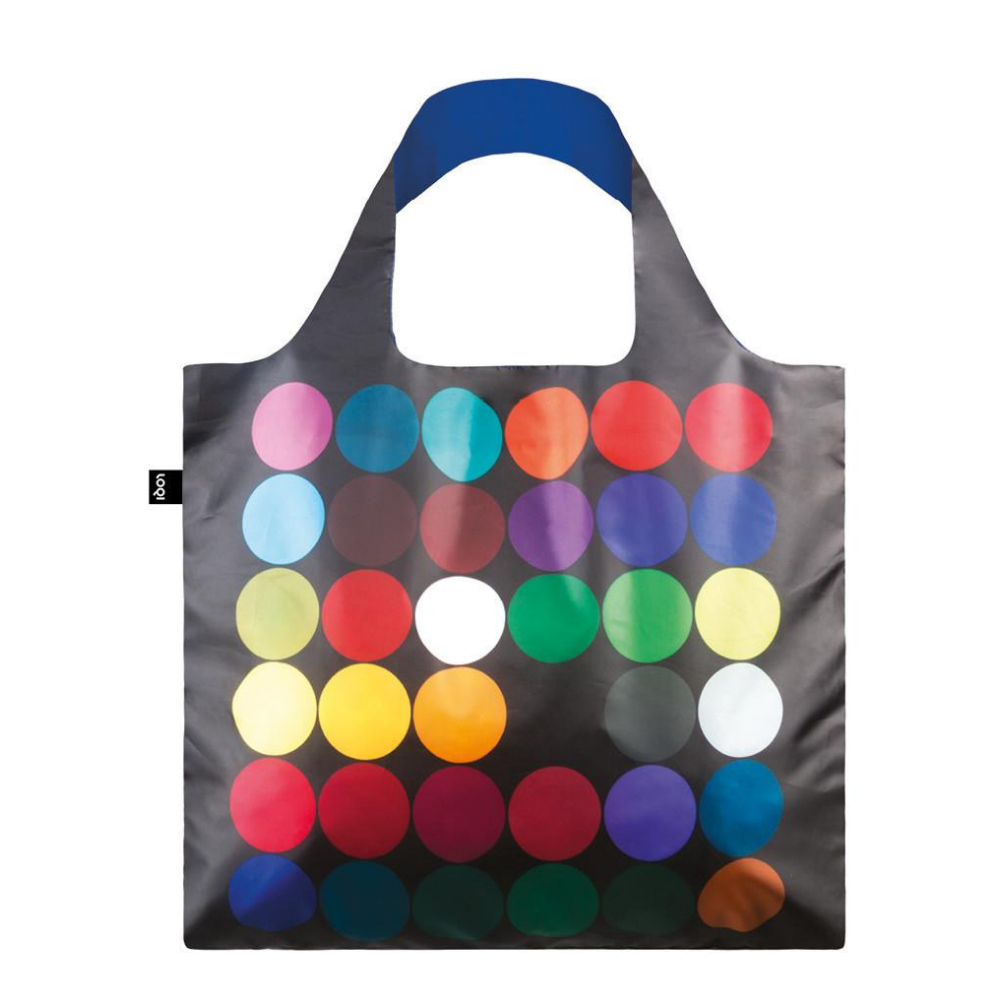 LOQI Geometric Circles Reusable Shopping Bag Kleding en accessoires
