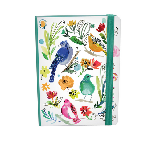 Wild Batik Bird Life A5 Hardcover Journal