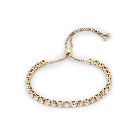 Lucia Gold Plated and Crystal Bracelet