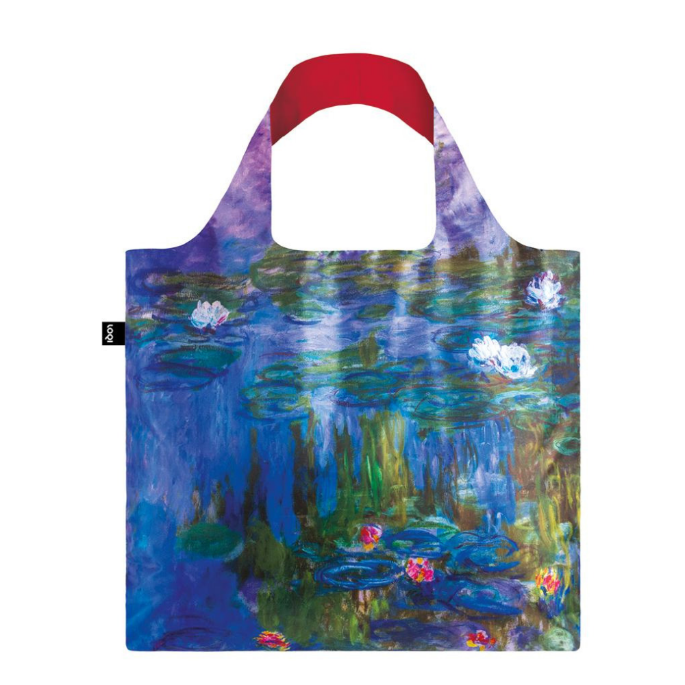 Loqi Claude Monet's Water Lilies Tote Bag