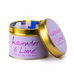 Lily Flame Lavender and Lime Scented Tin Candle