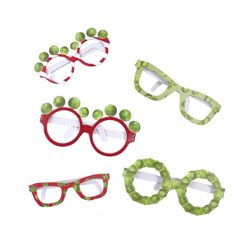 Botanical Christmas Sprout Glasses