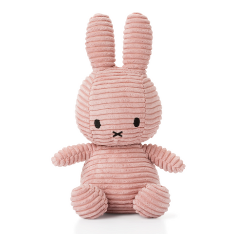 Miffy Large Pink Corduroy Soft Toy