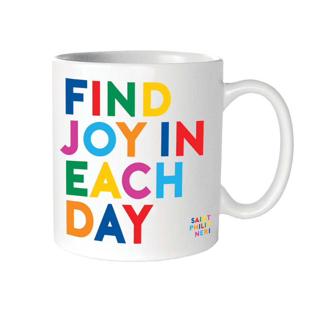 Find Joy In Each Day Mug