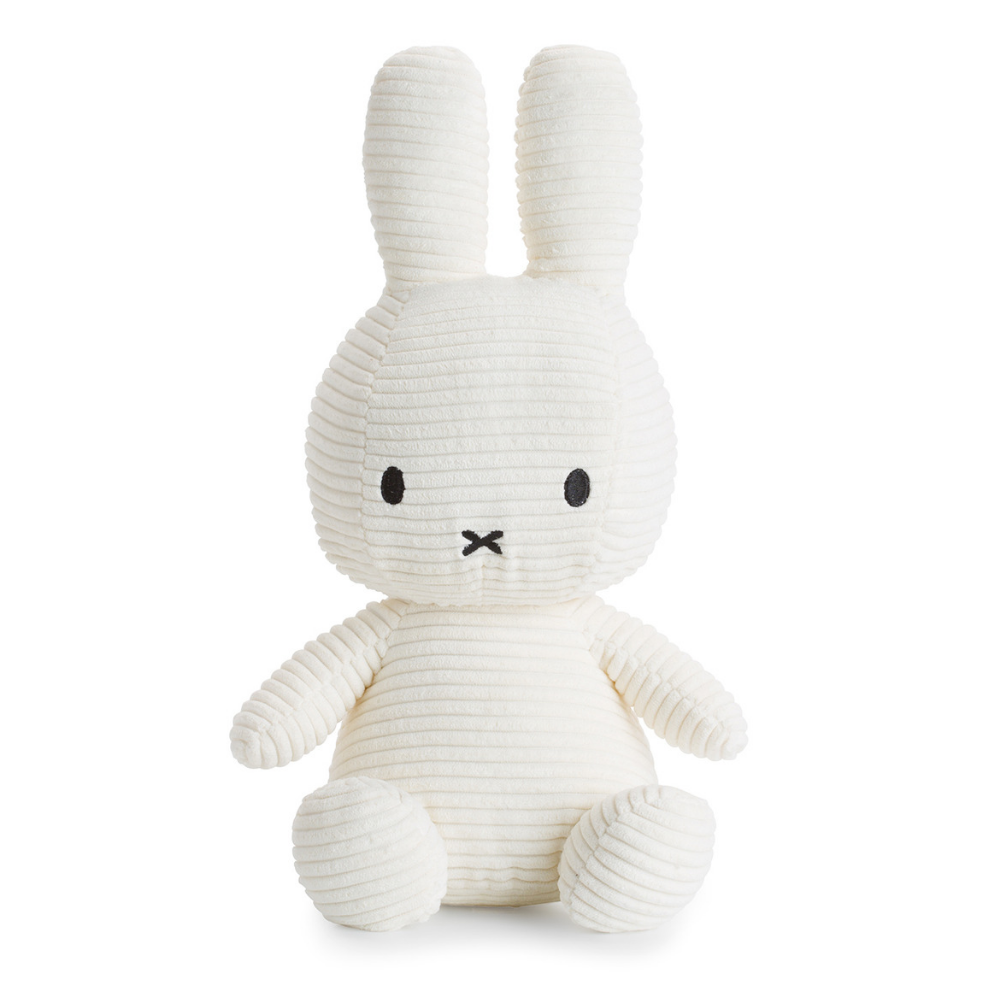 Miffy Large White Corduroy Soft Toy