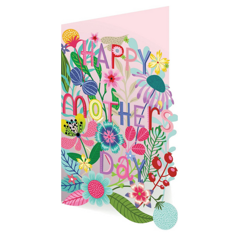 Enchanted Forest Lasercut Mother's Day Card