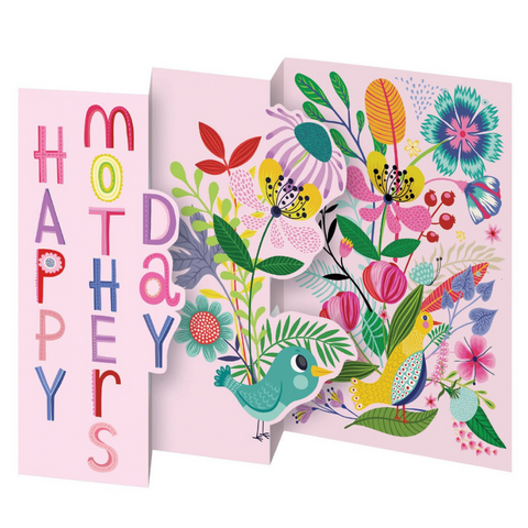 Enchanted Forest Petite Trifold Mother's Day Card