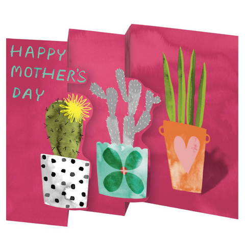 Hot House Petite Trifold Mother's Day Card