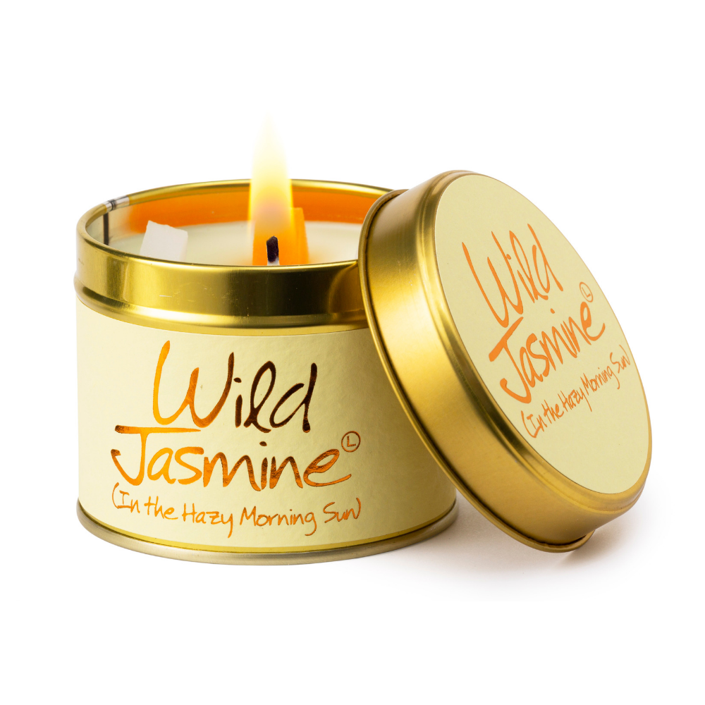 Lily Flame Wild Jasmine Scented Tin Candle