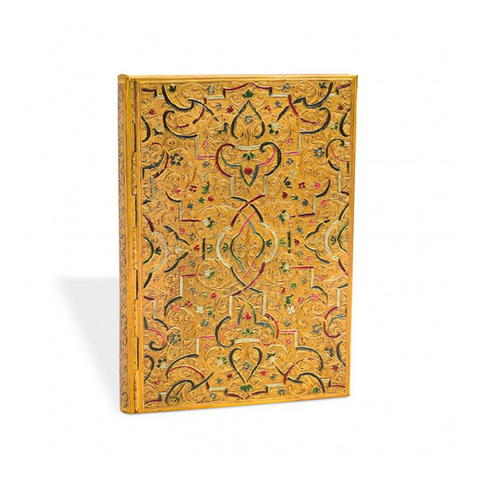 Paperblanks Gold Inlay Midi Address Book