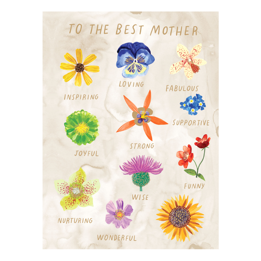 Facetime Flowers Mother's Day Card