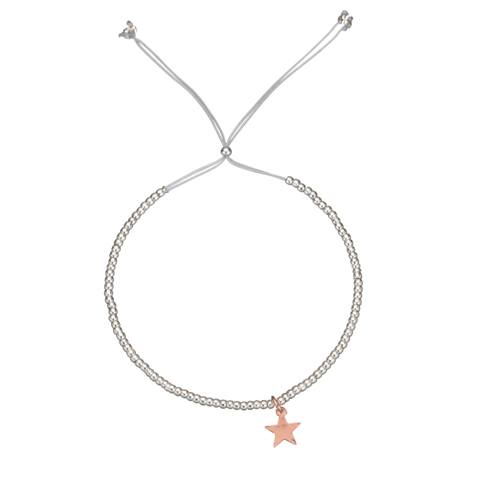 Estella Bartlett Rose Gold Plated Star Bracelet