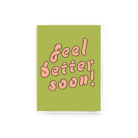 Feel Better Soon! Mini Card