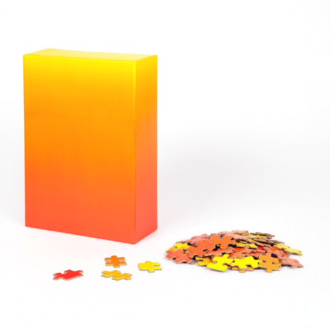 Areaware Red and Yellow Gradient Puzzle