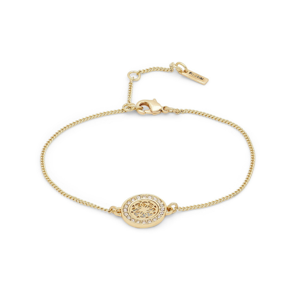 Henrietta Gold Plated and Crystal Bracelet