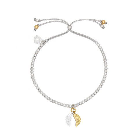 Estella Bartlett Wings Gold and Silver Plated Bracelet