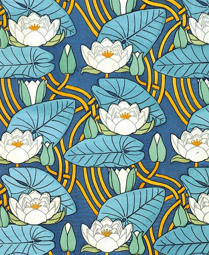 Pattern Based On Waterlilies