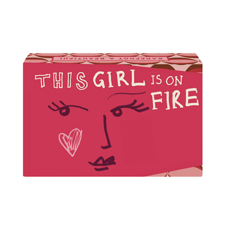 Amber Flowers 'This Girl Is On Fire' Soap Bar