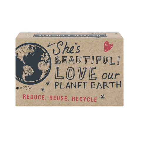 Fresh Bergamot 'Love Our Planet Earth' Soap Bar