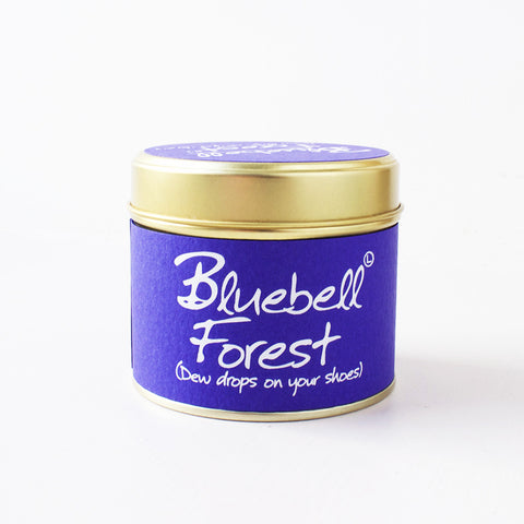 Bluebell Forest Lily Flame Scented Candle