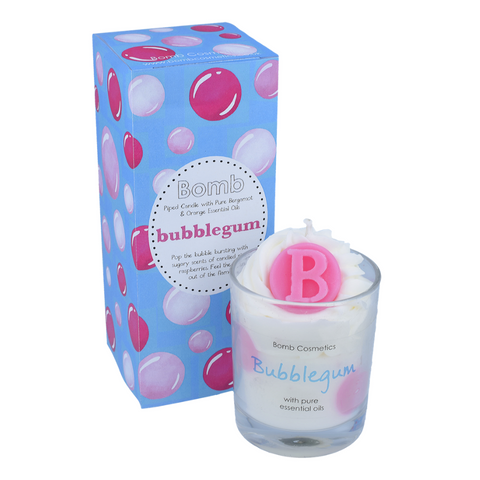 Bubblegum Piped Candle