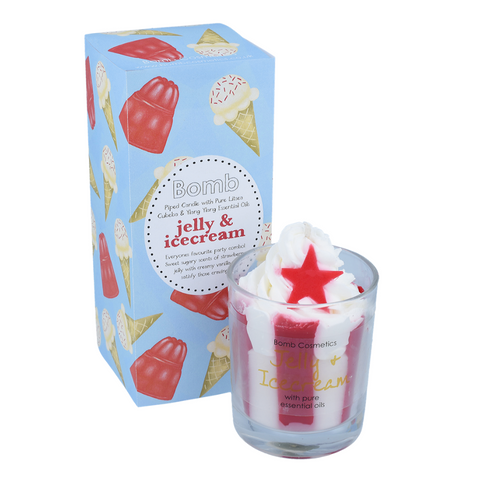 Jelly & Icecream Piped Candle