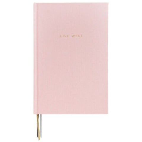 Caroline Gardner Pink Wellness Journal