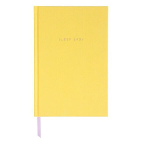 Caroline Gardner Yellow Bedtime 'Sleep Easy' Journal Notebook