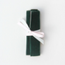 Caroline Gardner Green Velvet Travel Jewellery Roll