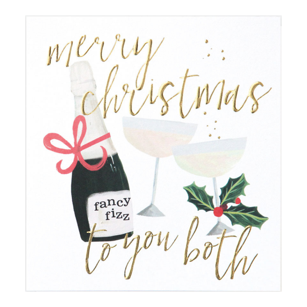 Merry Christmas To You Both - Fancy Fizz