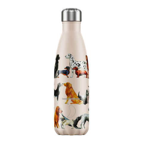 Chilly's and Emma Bridgewater Dogs Water Bottle 500ml