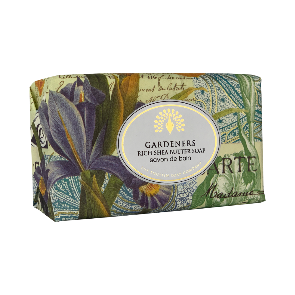 Gardeners Vintage Wrapped Soap