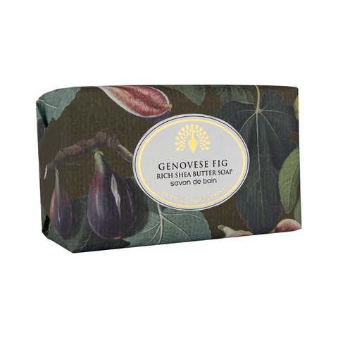 Genovese Fig Vintage Wrapped Soap