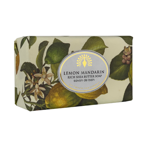 Lemon And Mandarin Vintage Wrapped Soap