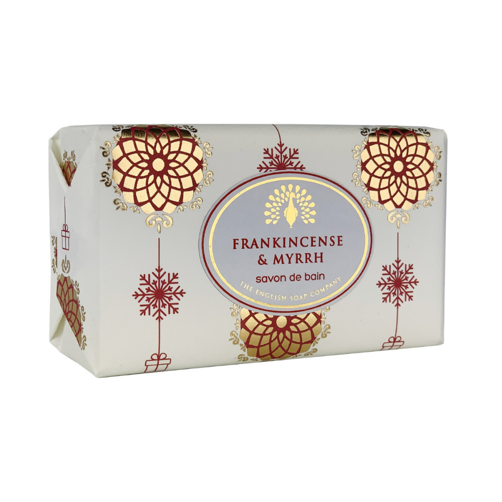 Frankincense and Myrrh Festive Wrapped Soap