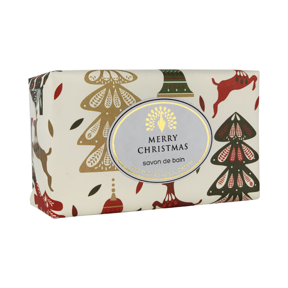 Mulled Wine Festive Wrapped Soap