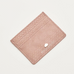 Estella Bartlett Blush Snake-Effect Card Holder