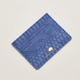 Estella Bartlett Navy Snake-Effect Card Holder
