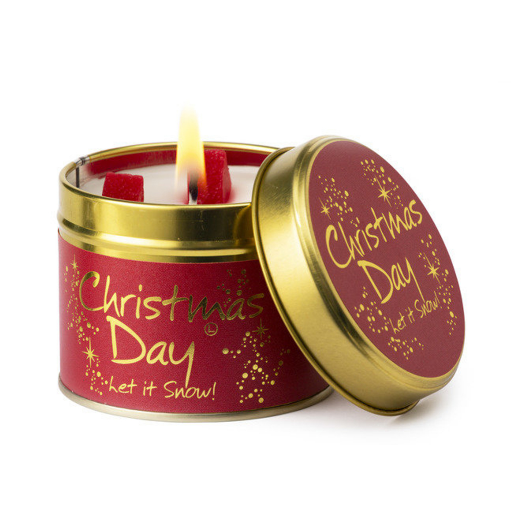 Lily-Flame Christmas Day Scented Tin Candle