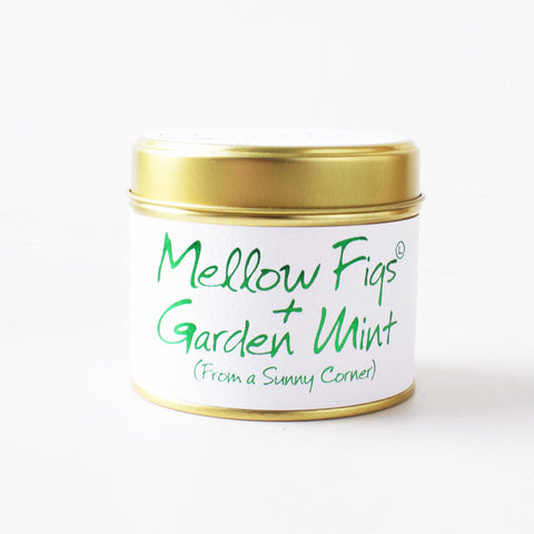 Mellow Figs & Garden Mint Lily Flame Scented Candle
